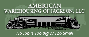 Logo, American Warehousing of Jackson, LLC - Warehousing Services